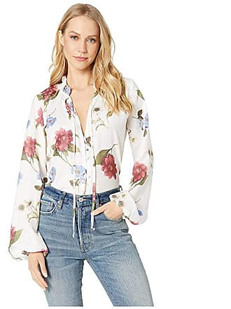 43d19ce6fa2714 Show me your Mumu Alicia Tunic (Florence Floral Silky Dots) Womens Blouse