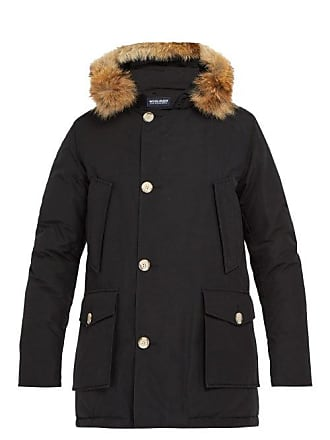 Woolrich Arctic Down Filled Hooded Parka - Mens - Black