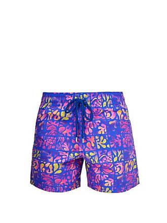 32deb6fe99 Vilebrequin Moorea Phuket Print Swim Shorts - Mens - Purple Multi