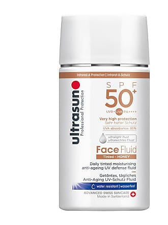 Ultrasun Face Fluid Tinted Honey SPF50+