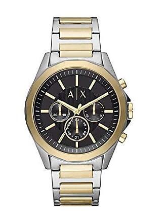Armani Relógio Armani Exchange Masculino Clássicos E Diferenciados Bicolor Ax2617/1kn