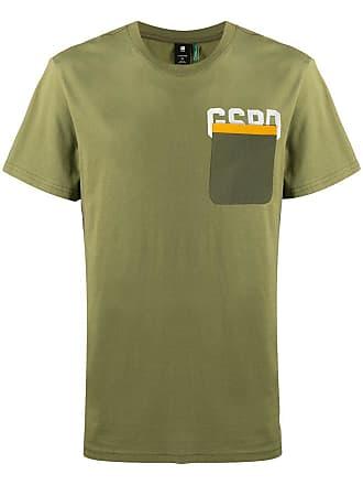G-Star Raw Research logo chest pocket T-shirt - Verde