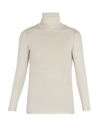 1a22311970f7 VETEMENTS Reverse Effect Panelled Roll Neck Sweatshirt - Mens - White