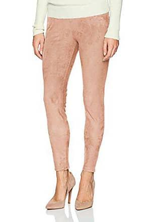 Lyssé Womens Hi Waist Suede Legging, Dusty Peach, XL