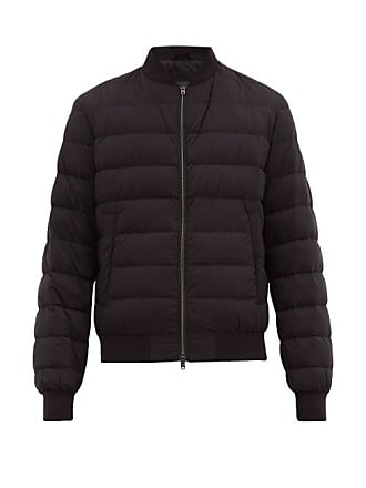 Herno Il Aviatore Quilted Down Bomber Jacket - Mens - Black