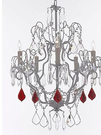 Gallery T22-2657 5 Light 21 Wide Crystal Chandelier with Swarovski