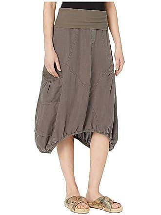 Xcvi Wearables Mini Skirt in Linen (Oakmoss) Womens Skirt
