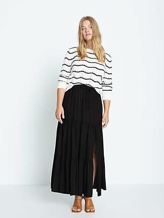 Violeta by Mango Slit long skirt
