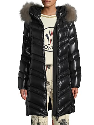 2bd74a4cb7aa Moncler Fulmar Hooded Puffer Coat w  Removable Fur Trim