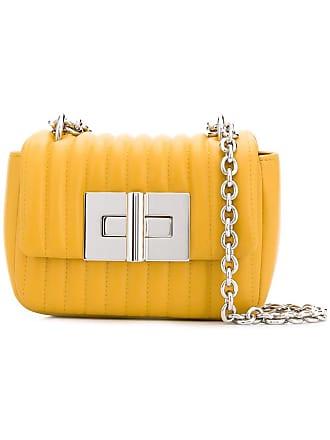 Tom Ford Bolsa Natalia matelassê mini - Amarelo