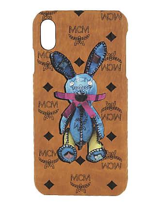 663e64e0e260e MCM Rabbit iPhone Case XS Max Cognac Smartphone Hülle cognac
