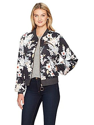 6379bc89cd07c2 Somedays Lovin Womens Mystic Nights Floral Print Bomber Jacket, Multi, Small