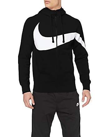 on sale 18b7f 5b7a1 Nike M Nsw Hbr Hoodie FZ FT Stmt, Felpa Uomo, White Black, XL