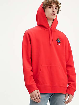 Levi's x Super Mario Graphic Hoodie - Red