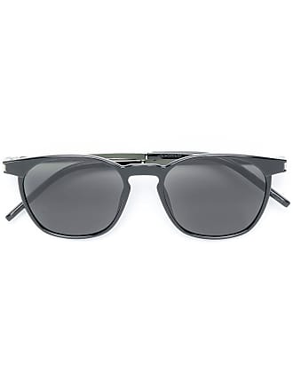 Saint Laurent Eyewear round sunglasses - Preto