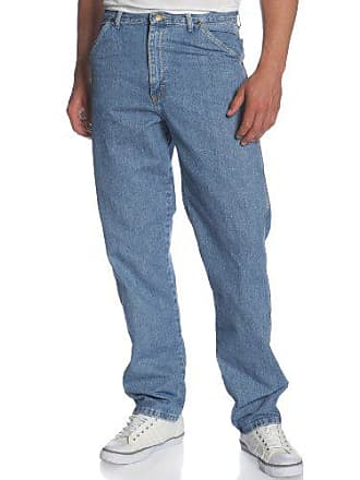 Wrangler Mens Rugged Wear Carpenter Jean,Vintage Indigo,34x32
