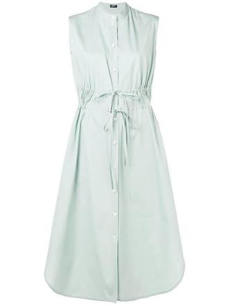 Jil Sander sleeveless shirt dress - Blue