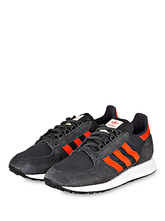super popular ed7b7 d4aeb adidas Originals Sneaker FOREST GROVE - DUNKELGRAU  ROT