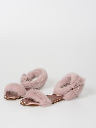 d739f3280224 Valentino Garavani Real Mink Fur Sandals size 38
