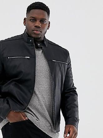 844a0b0081a6d Men s Faux Leather Jackets − Shop 106 Items