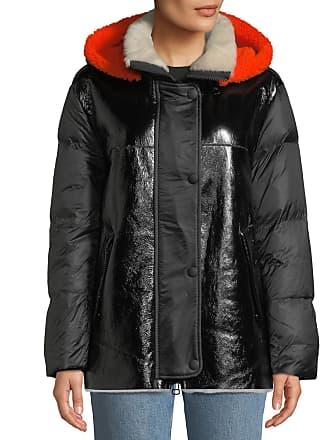 Yves Salomon - Army Lamb Shearling & Leather Down Jacket