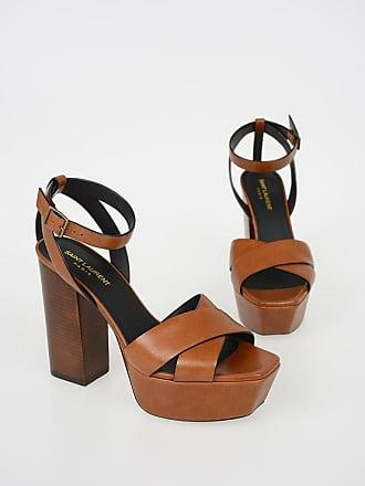 Saint Laurent 12 cm Leather FARRAH Sandals size 37