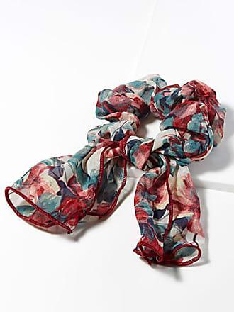 Simons Rich blossom scarf scrunchie