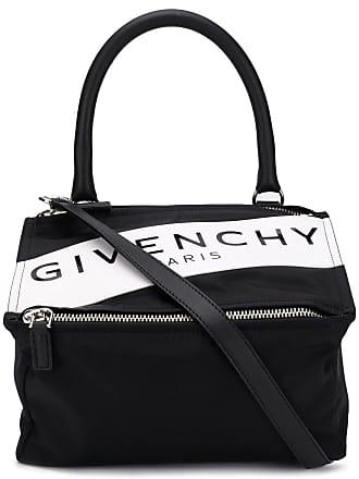 Givenchy Bolsa tote Pandora pequena de couro - Preto