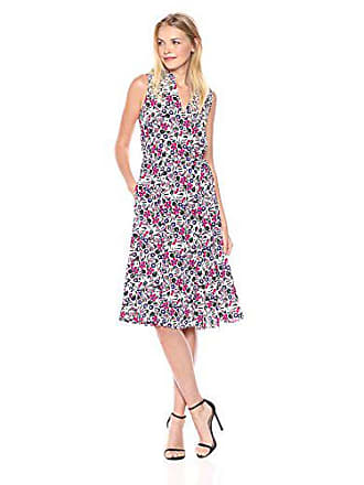 0281318c90 Anne Klein Womens Drawstring Waist Midi Dress