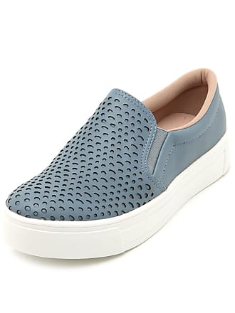 Dakota Slip On Dakota Laser Cut Azul