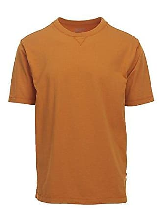 Woolrich Mens First Forks Solid Tee, Desert Sun Small