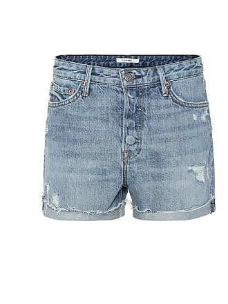 GRLFRND Kerry high-rise denim shorts