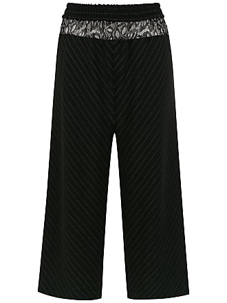 À La Garçonne striped trousers - Black