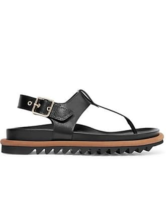 Dries Van Noten Leather Sandals - Black