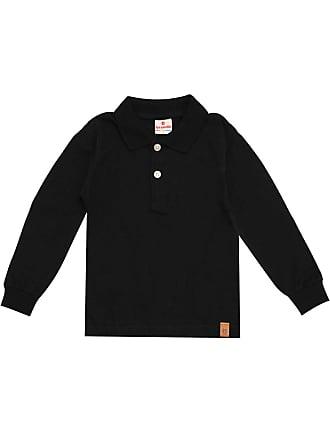 Brandili Camiseta Polo Brandili Menino Liso Preta
