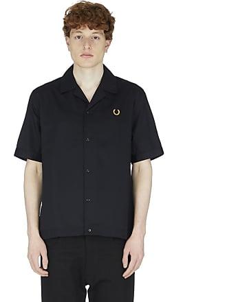 Fred Perry Bowling Shirt - Black