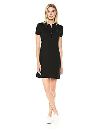 9abb1385b43 Lacoste Womens Classic Short Sleeve Stretch Mini Pique Polo Dress