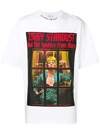 Ih Nom Uh Nit Ziggy Stardust print T-shirt - White