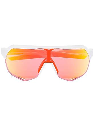 100% Eyewear Óculos de sol degradê S2 - Branco