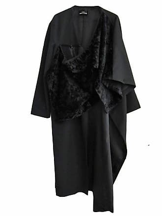 Rei Kawakubo Comme Des Garcons Tricot Asymmetric Black Coat Ad 1999 31ce31862