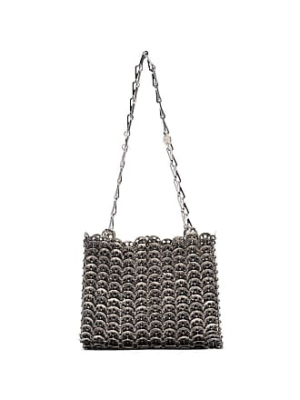 Paco Rabanne metallic silver Iconic 1969 chainmail shoulder bag