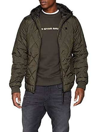 G-Star Whistler Meefic HDD Quilted Bomber, Blouson Homme, Gris (Asfalt 995 e76cccece561