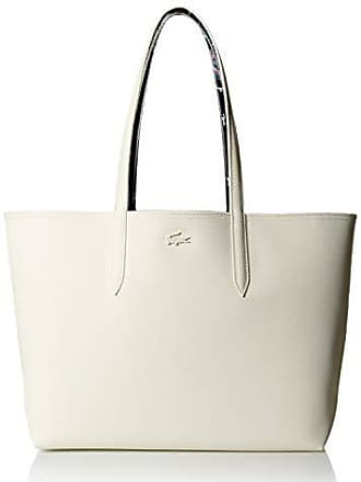 Lacoste Women Anna Fantaisie Shopping Bag, moss/white