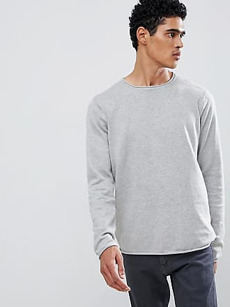 D-Struct Crew Neck Sweater - Gray