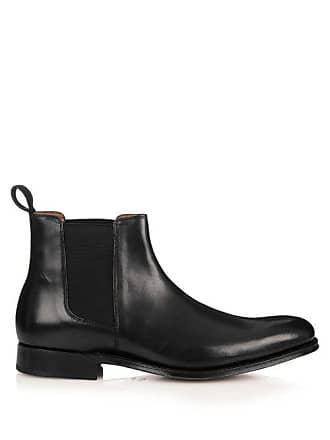 10530d9ff36 Grenson Declan Leather Chelsea Boots - Mens - Black