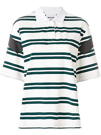 Koché Camisa polo listrada - Verde
