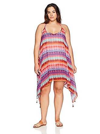 a54890d1192d0 Bleu Rod Beattie Womens Plus Size Caftan Swim Cover Up, Dream Weavers  Multi, S