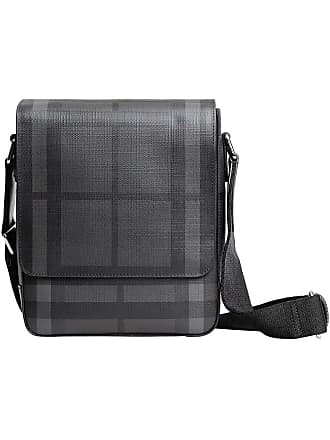 5716437975 Burberry London check crossbody bag - Black