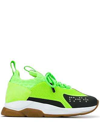 Versace Cross Chainer sneakers - Green