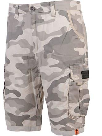 eb9a7bbc9d Smith & Jones Mens Smith & Jones Camouflage Shorts Cargo Combat Knee Length  Jeans Military New